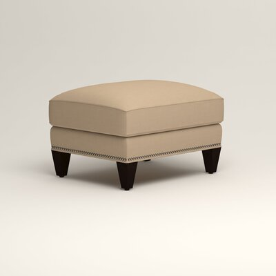 Larson Ottoman Upholstery: Tillery Sand, Nailhead Detail: Trim