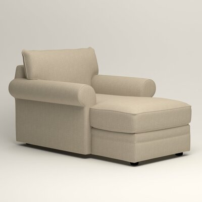 Newton Chaise Upholstery: Watson Malt Blended Cotton