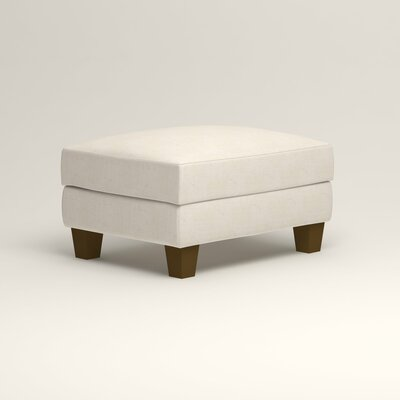 Kerry Ottoman Upholstery: Bevin Natural