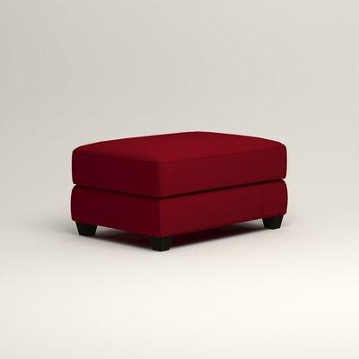 Hawthorn Ottoman Upholstery: Bayou Flame