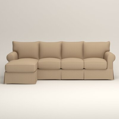 Jameson Sofa with Chaise Orientation: Left, Upholstery: Tillery Sand