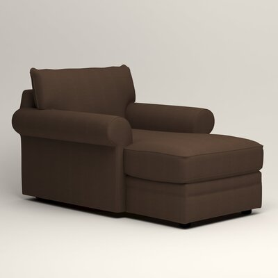 Newton Chaise Upholstery: Tillery Espresso