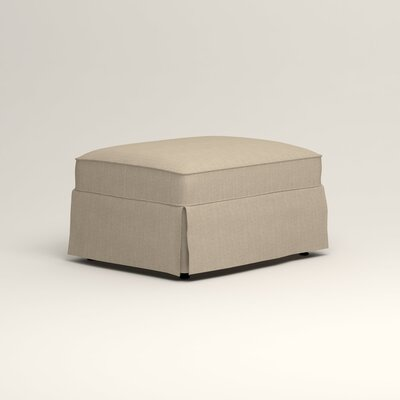 Jameson Ottoman Upholstery: Watson Malt Blended Cotton