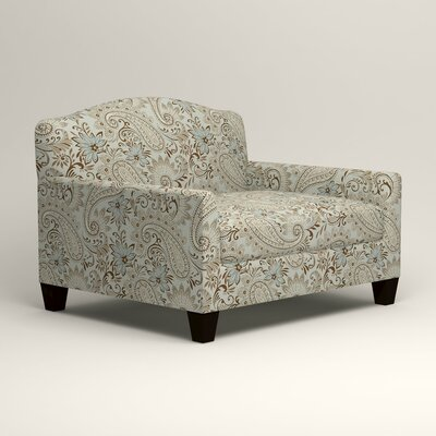 Fairchild Chair and a Half Upholstery: Nadia Moonstone