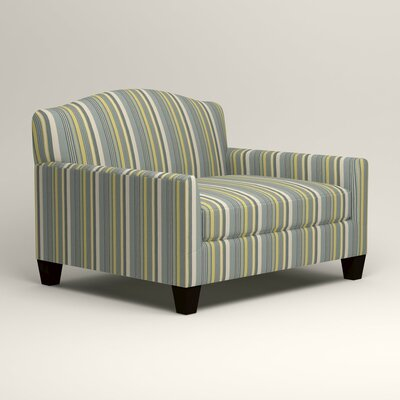 Fairchild Chair and a Half Upholstery: Dunagen Ocean