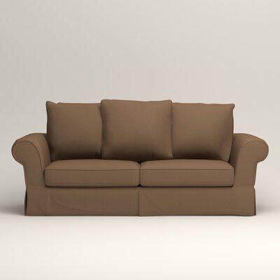 Owen Sofa Upholstery: Microsuede Cappucino