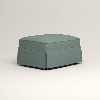 Jameson Ottoman Upholstery: Bryant Calypso Textured Slub