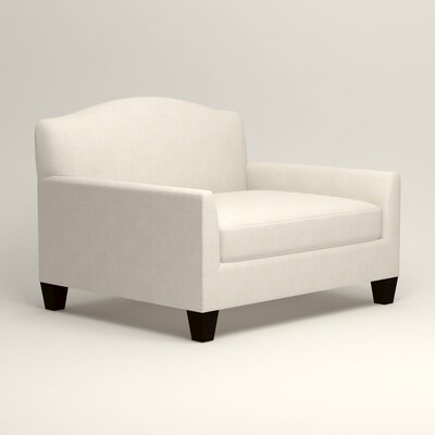 Fairchild Chair and a Half Upholstery: Bevin Natural