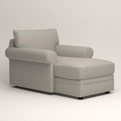 Newton Chaise Upholstery: Kennon Saltwater Navy