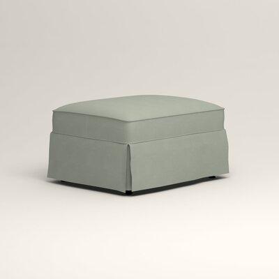 Jameson Ottoman Upholstery: Tillery Mint