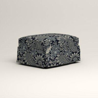 Jameson Ottoman Upholstery: Wallace Midnight Paisley