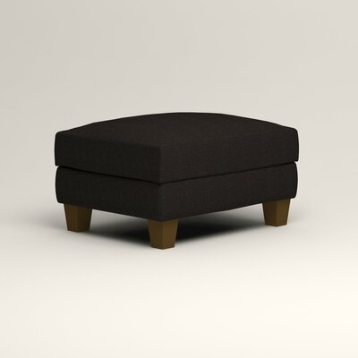 Kerry Ottoman Upholstery: Hilo Graphite