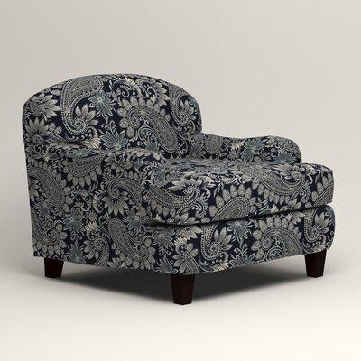 Cheshire Armchair Upholstery: Nadia Denim