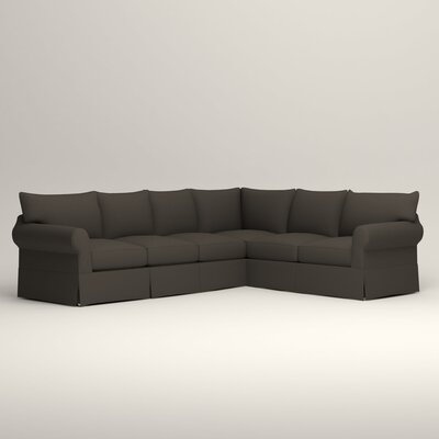 Jameson L-Shaped Sectional Orientation: Left Hand Facing, Upholstery: Jemma Storm Gray