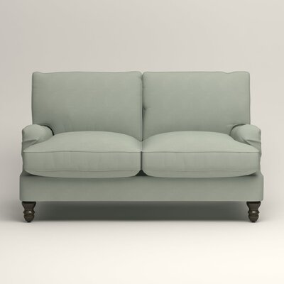 Montgomery Slipcovered Loveseat Upholstery: Bayou Spray