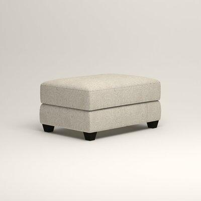 Hawthorn Ottoman Upholstery: Ronan Linen