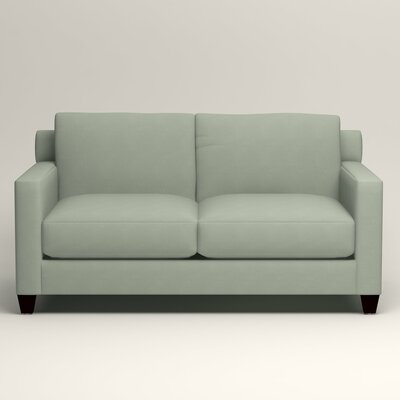 Kerry Loveseat Upholstery: Tillery Mint
