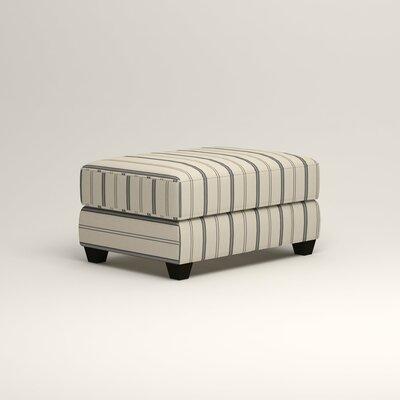 Hawthorn Ottoman Upholstery: Mcallister Indigo
