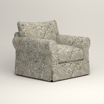 Jameson Chair Fabric: Wallace Moonstruck Paisley