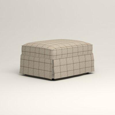 Jameson Ottoman Upholstery: Stedman Natural
