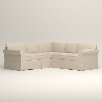 Jameson Symmetrical Sectional Orientation: Left Facing, Upholstery: Tillery Vanilla