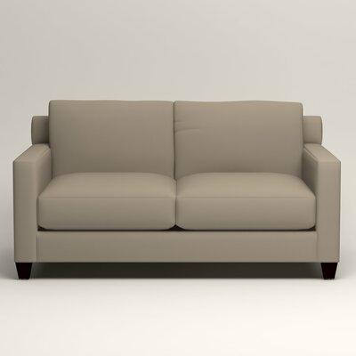 Kerry Loveseat Upholstery: Tibby Linen