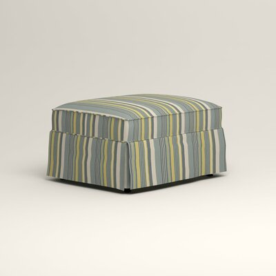 Jameson Ottoman Upholstery: Lizzy Prussian
