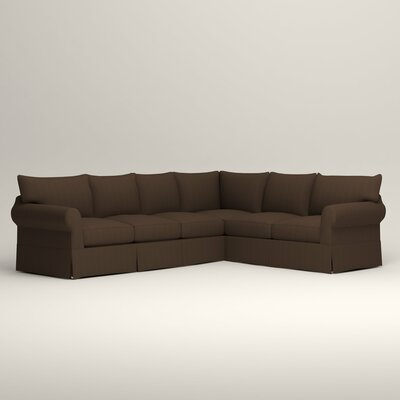Jameson Slipcovered L-Shaped Sectional