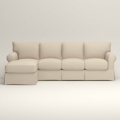 Jameson Sofa with Chaise Orientation: Left Facing, Upholstery: Spinnsol Navy