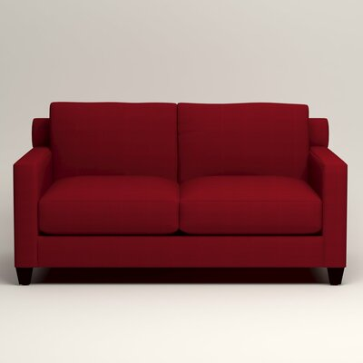 Kerry Loveseat Upholstery: Bayou Flame