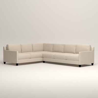 Kerry L-Shaped Sectional Orientation: Left Facing, Upholstery: Tillery Vanilla
