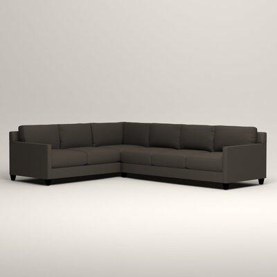 Kerry L-Shaped Sectional Orientation: Left Facing, Upholstery: Jemma Storm Gray