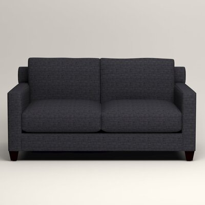 Kerry Loveseat Upholstery: Laney Navy