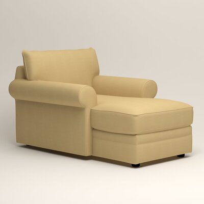 Newton Chaise Upholstery: Tillery Sunglow