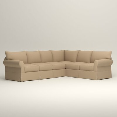 Jameson L-Shaped Sectional Orientation: Left Hand Facing, Upholstery: Tillery Sand