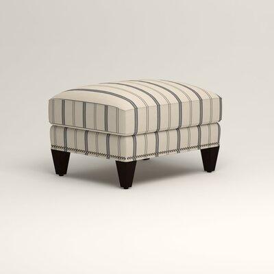 Larson Ottoman Upholstery: Adalia Deep-Sea Navy, Nailhead Detail: Trim