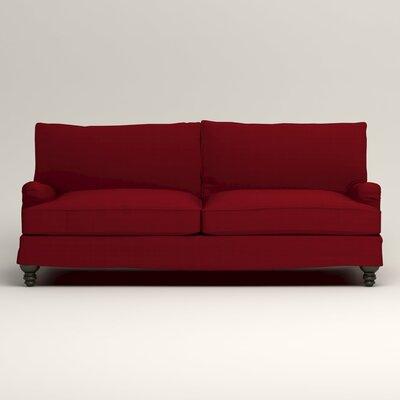 Montgomery Slipcovered Sofa Upholstery: Bayou Flame