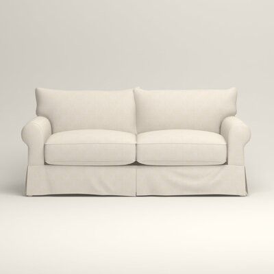 Jameson Sleeper Sofa Upholstery: Talc Basketweave