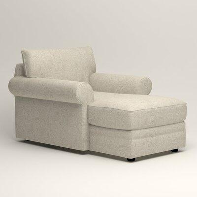 Newton Chaise Upholstery: Stewart Paisley Linen