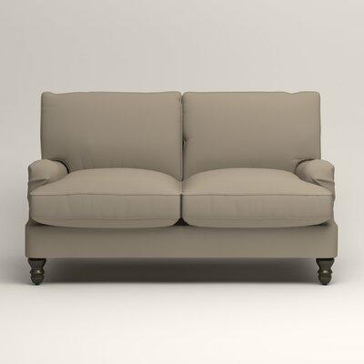 Montgomery Slipcovered Loveseat Upholstery: Tibby Linen