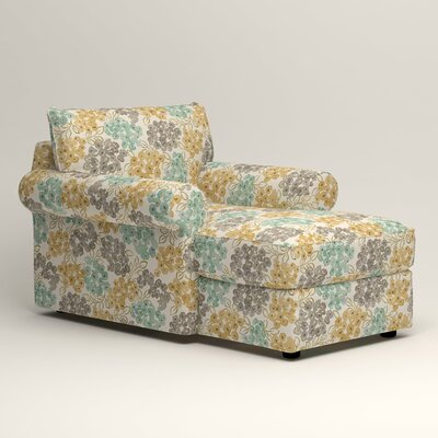 Newton Chaise Upholstery: Wilmer Blooming Pool