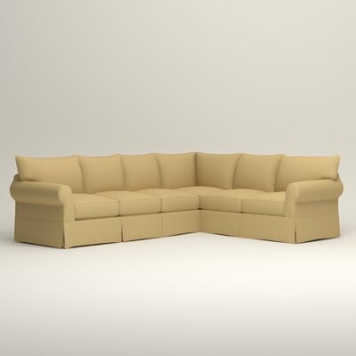 Jameson L-Shaped Sectional Orientation: Left Hand Facing, Upholstery: Tillery Sunglow