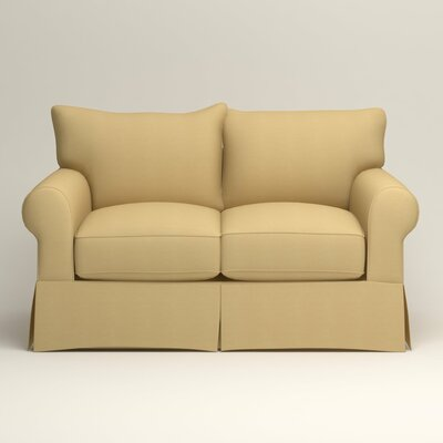 Jameson Loveseat Upholstery: Tillery Sunglow
