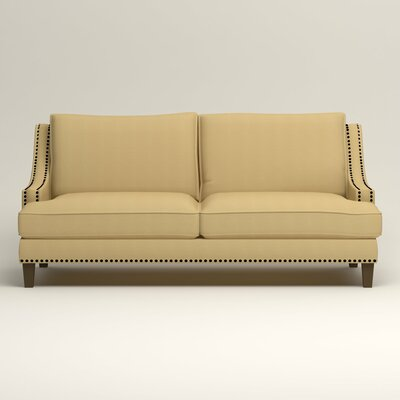 Larson Sofa with Toss Pillows Upholstery: Bayou Sunshine