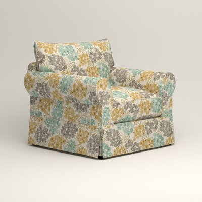 Jameson Chair Fabric: Wilmer Blooming Pool