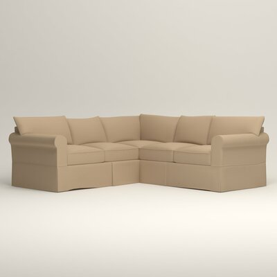 Jameson Symmetrical Sectional Orientation: Left Facing, Upholstery: Tillery Sand