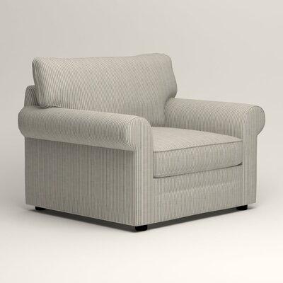 Newton Side Chair Color: Douglas Harbor Stripe