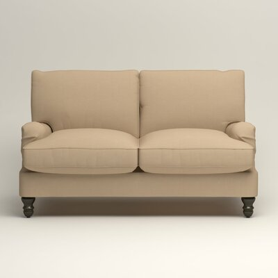 Montgomery Slipcovered Loveseat Upholstery: Bayou Stone