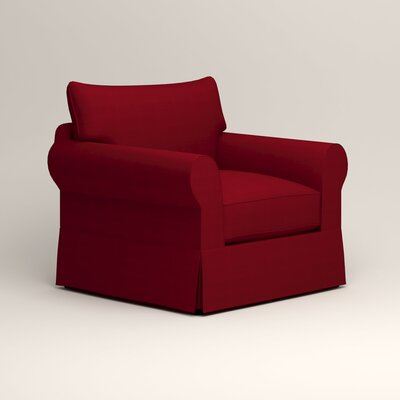 Jameson Chair Fabric: Tillery Crimson