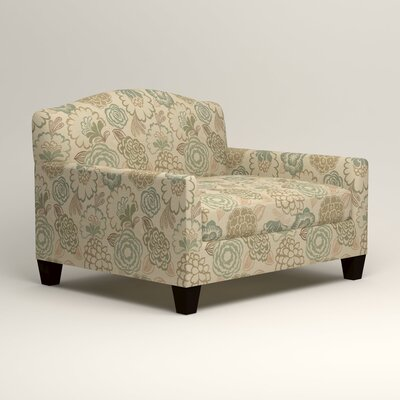 Fairchild Chair and a Half Upholstery: Okeefe Seabreeze